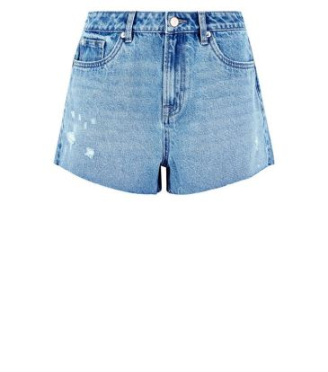 blue-distressed-denim-mom-shorts